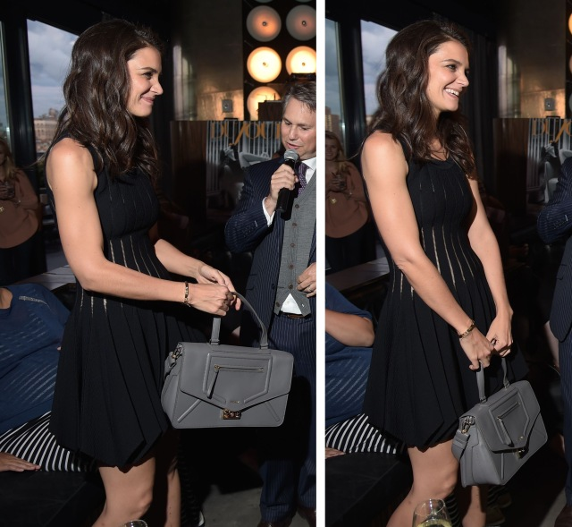DuJour Magazine's Jason Binn And Furla Celebrate Katie Holmes's Presented By InList